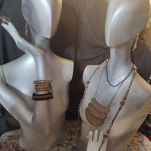 Set Lot Necklace Bracelet Earrings BOHO